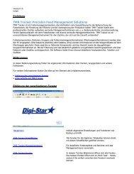 TMR Tracker Bedienungsanleitung - Deutsch - Digi-Star