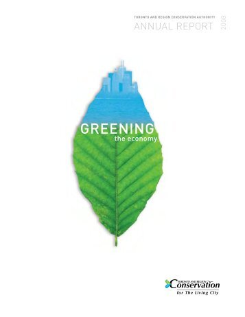 GREENING - Toronto and Region Conservation Authority
