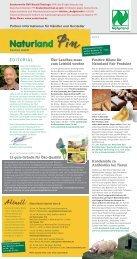PIN, Newsletter für Händler und Verarbeiter 1/2012 - Naturland