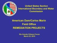American Dam - International Boundary and Water Commission