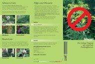 Flyer Neophyten