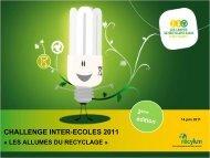 challenge inter-ecoles 2011 Â« les allumes du recyclage - malampe.org