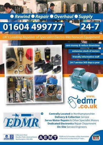 01604 499777 24-7 Rewind Repair Overhaul Supply - EDMR for ...