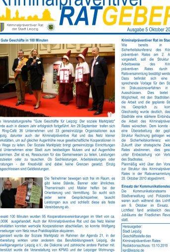 Newsletter des Kriminalpräventiven Rates - Oktober 2010