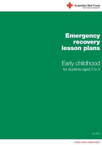 Early childhood - Australian Red Cross