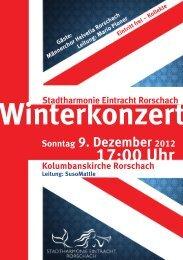 Herunterladen als PDF-Datei - Stadtharmonie Eintracht Rorschach