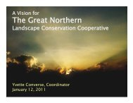 GNLCC Overview - January 2011 - Northern Rocky Mountain ...