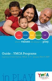 Guideto YMCA Programs