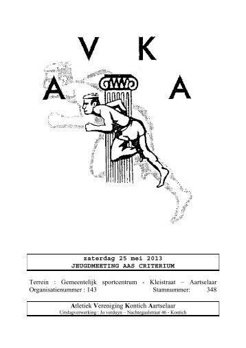 Uitslag - AVKA
