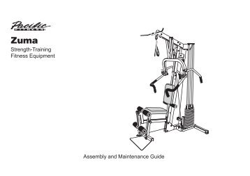 Pacific Fitness Zuma Leg Press Manual