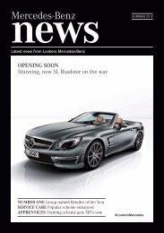 Lookers Mercedes-Benz Newsletter