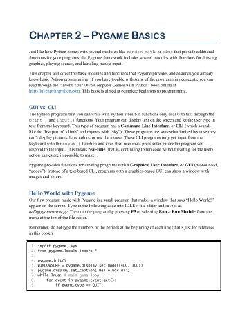 Python Games Code