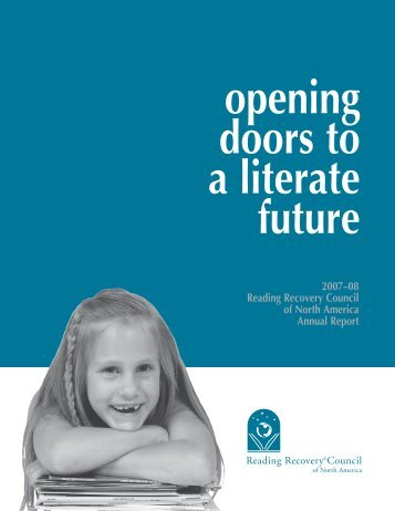 2007–08 Reading Recovery Council of North America Annual Report