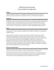 Internship Application - Professional Dairy Producers of Wisconsin