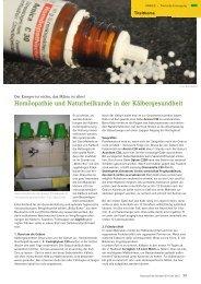 Homöopathie und Naturheilkunde in der Kälbergesundheit - Naturland