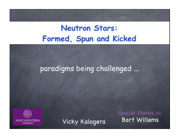 Neutron Stars: Formed, Spun and Kicked