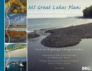 MI-Great Lakes Plan: Our Path to Protect - State of Michigan