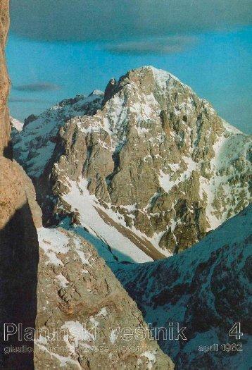 April - Planinski Vestnik