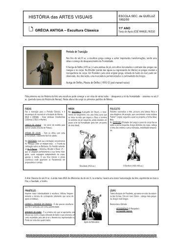 Escultura: clássico - Home Page de José Manuel Russo