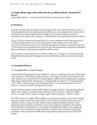 preliminare pdf - Istituto Universitario Suor Orsola Benincasa