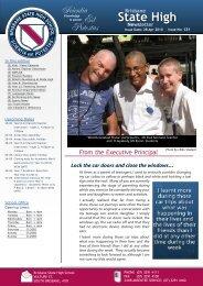 BSHS 2008 Newsletter - Brisbane State High School - Education ...
