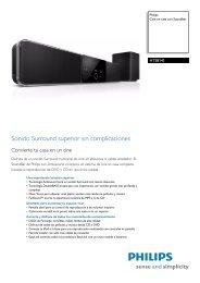 HTS8141/12 Philips Cine en casa con Soundbar - Supersonido