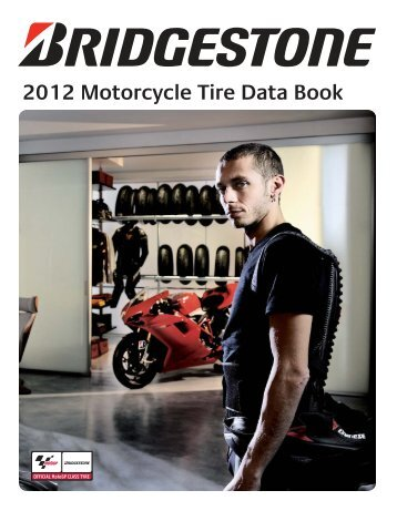 Bridgestone 2012 Motorcycle Tyre & Data Book - Eurotred
