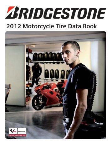 Bridgestone 2012 Motorcycle Tyre & Data Book - Eurotred