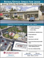 Retail/Office Space For Lease Bear Creek Parkway - 15806 Building