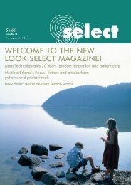 WELCOME TO THE NEW LOOK SELECT MAGAZINE! - Astra Tech
