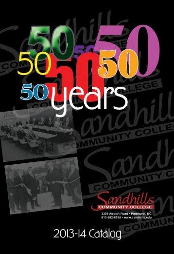 2013 - 2014 - Sandhills Community College