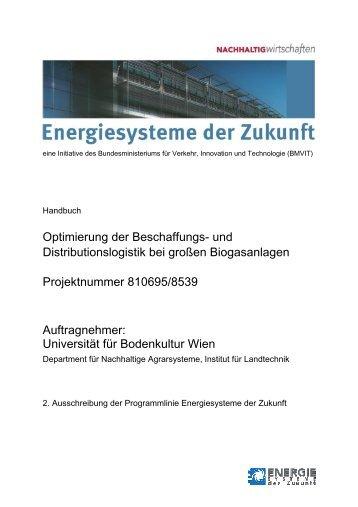 Optimierung der Beschaffungs- und Distributionslogistik bei großen ...