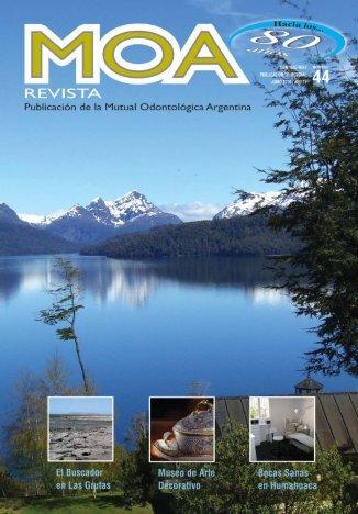 revista 44 - MOA :: Mutual Odontológica Argentina