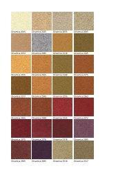 Varier Dinamica Melange Kleurenkaart