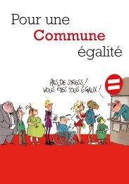 Pour une Commune égalité - Portail Action Sociale et Santé en ...