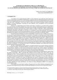 as reservas da biosfera urbanas na promoção do ... - Instituto Florestal