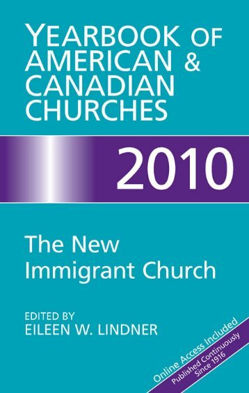 Yearbook of American and Canadian Churches 2010 - Cokesbury