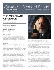 THE MERCHANT OF VENICE - Bgawebsites org