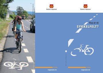Informasjon om sykkelfelt