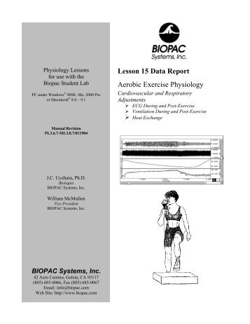 Lesson 15 Data Report - Biopac