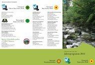Jahresprogramm 2012 - Naturpark Bayerischer Wald