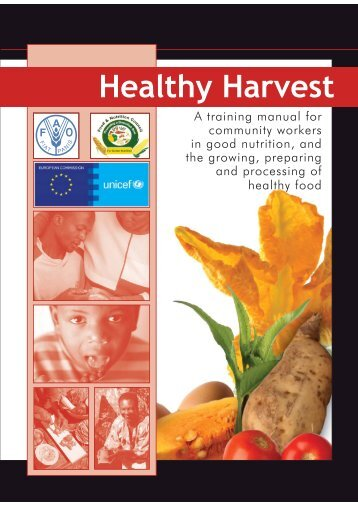 Healthy Harvest - Mother, Infant and Young Child Nutrition ...