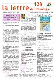 Œnologue - Union des oenologues de France