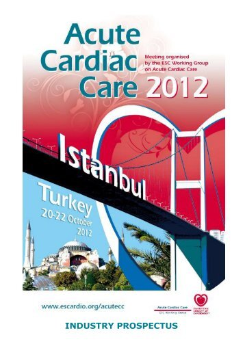 Acute Cardiac Care 2012 Industry Prospectus - ESCexhibition.org, as
