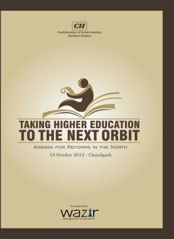 Taking Higher Education to the Next Orbit - CII