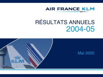 Présentation - Air France-KLM Finance