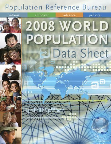 2008 World Population Data Sheet - Population Reference Bureau
