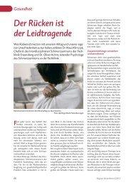 Der Rücken ist der Leidtragende - Extern.fachklinik-enzensberg.de