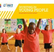 young people - Youth Sport Trust