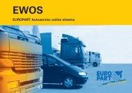 EUROPART Autoserviso online sistema - EUROPART Online-Shop